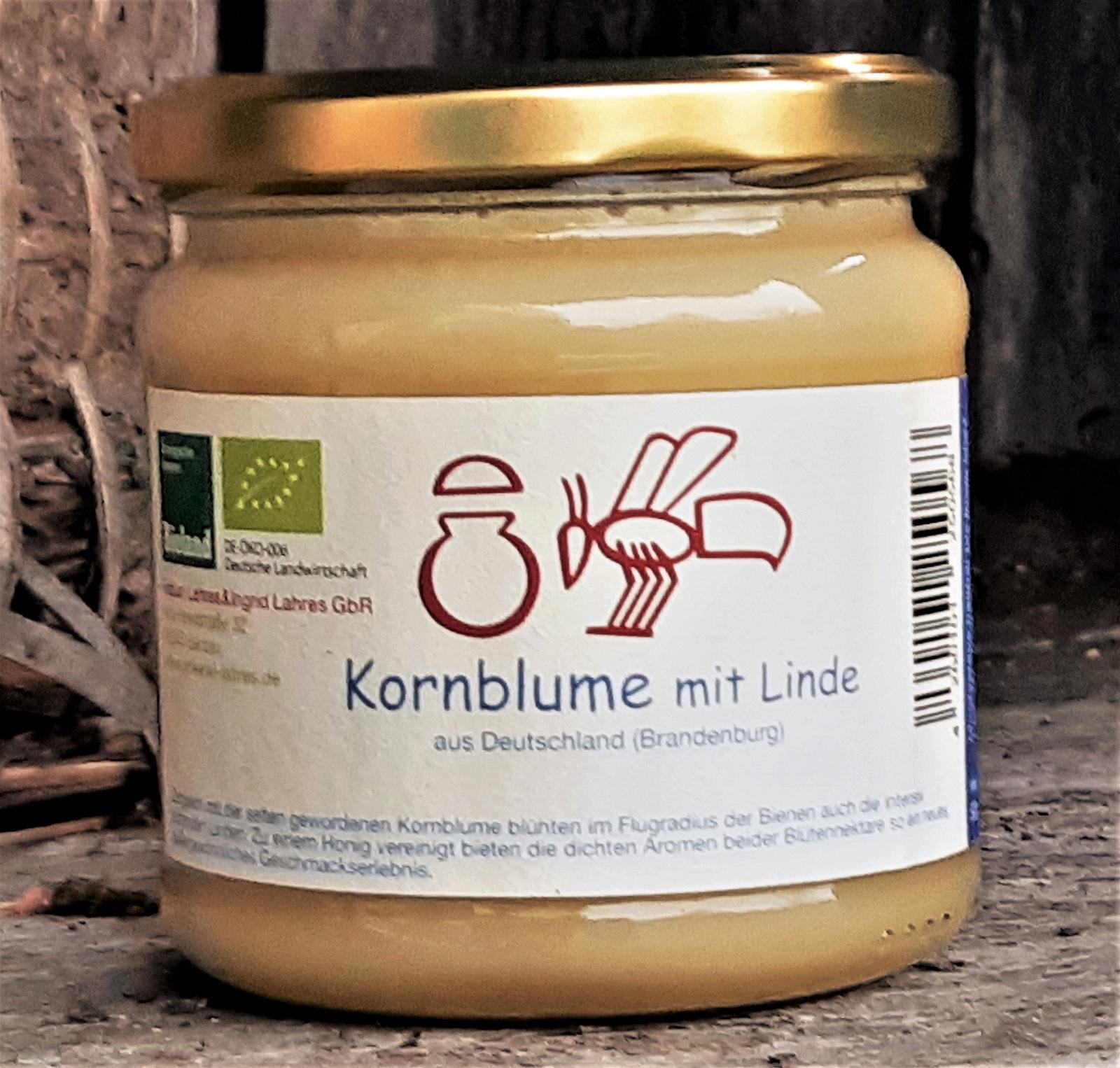 Kornblumenhonig mit Linde | 500 g