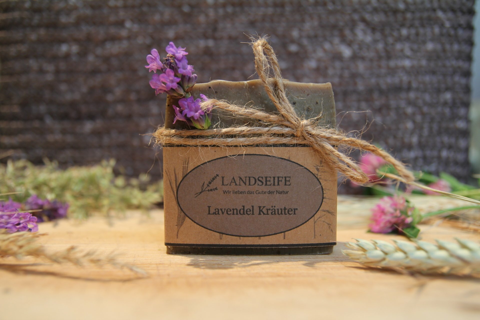 Naturseife - Lavendel Kräuter | 100 g