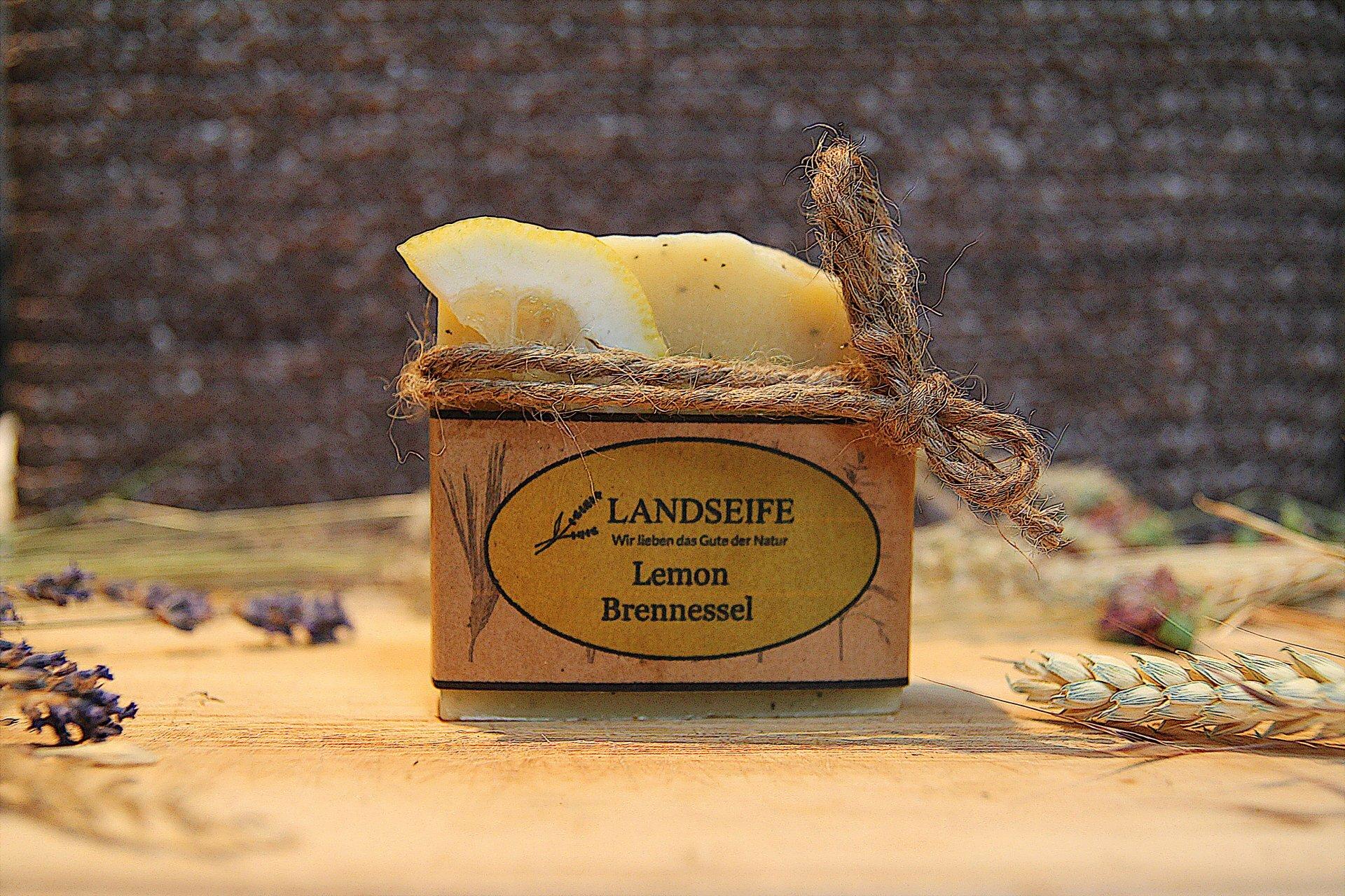 Naturseife - Lemon Brennessel | 100 g