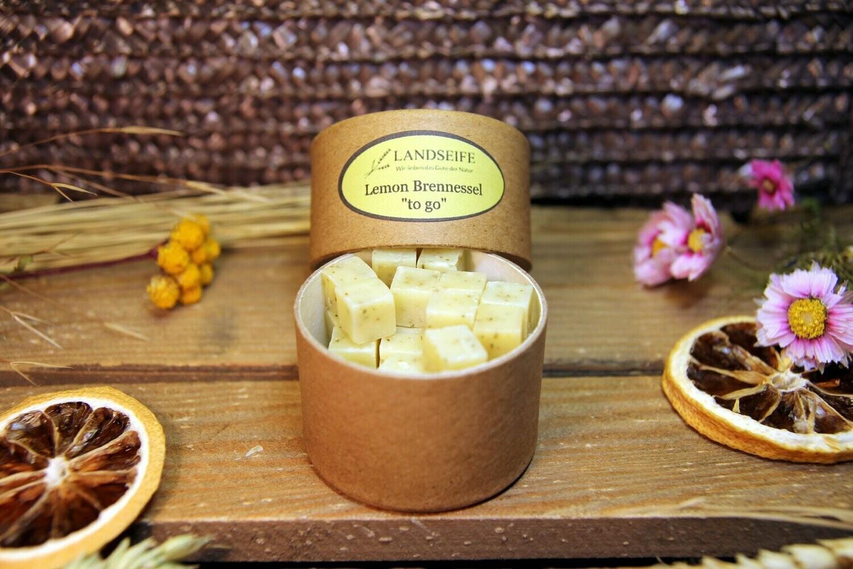 Naturseife - Lemon Brennessel - to go | 25 g