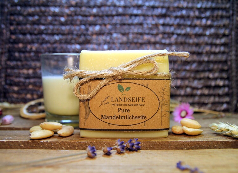 Naturseife - Pure Mandelmilchseife | 100 g