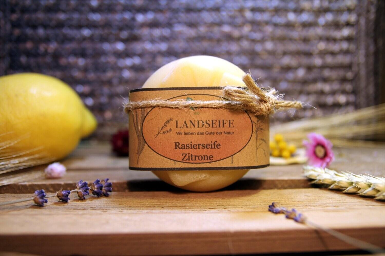 Naturseife - Rasierseife Zitrone | 90 g