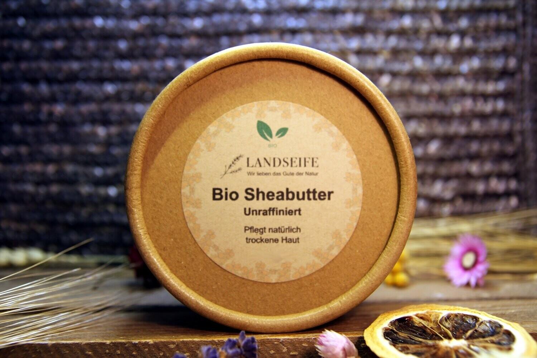 Sheabutter - unraffiniert   80 g