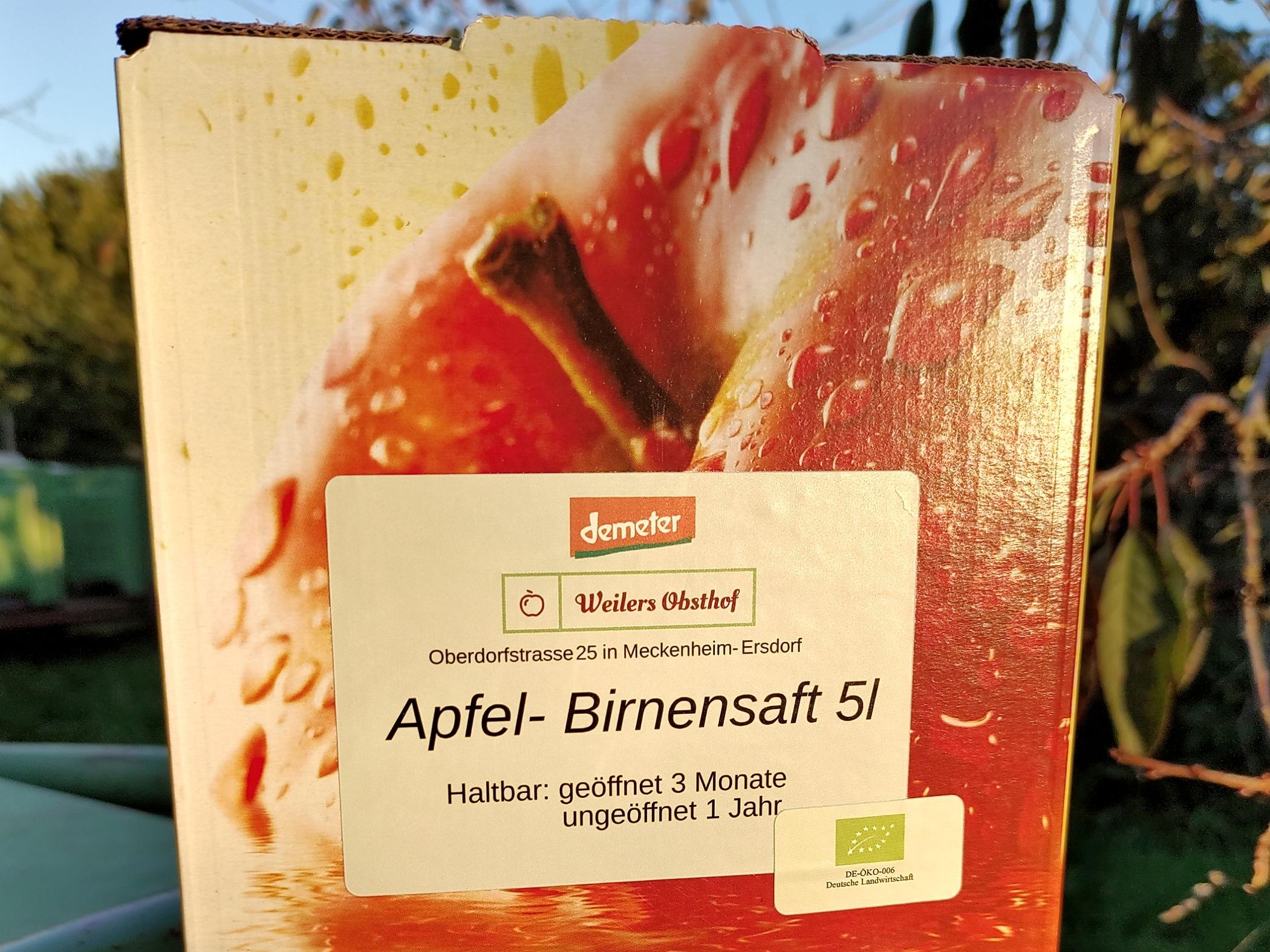Apfel-Birnensaft | 5 l