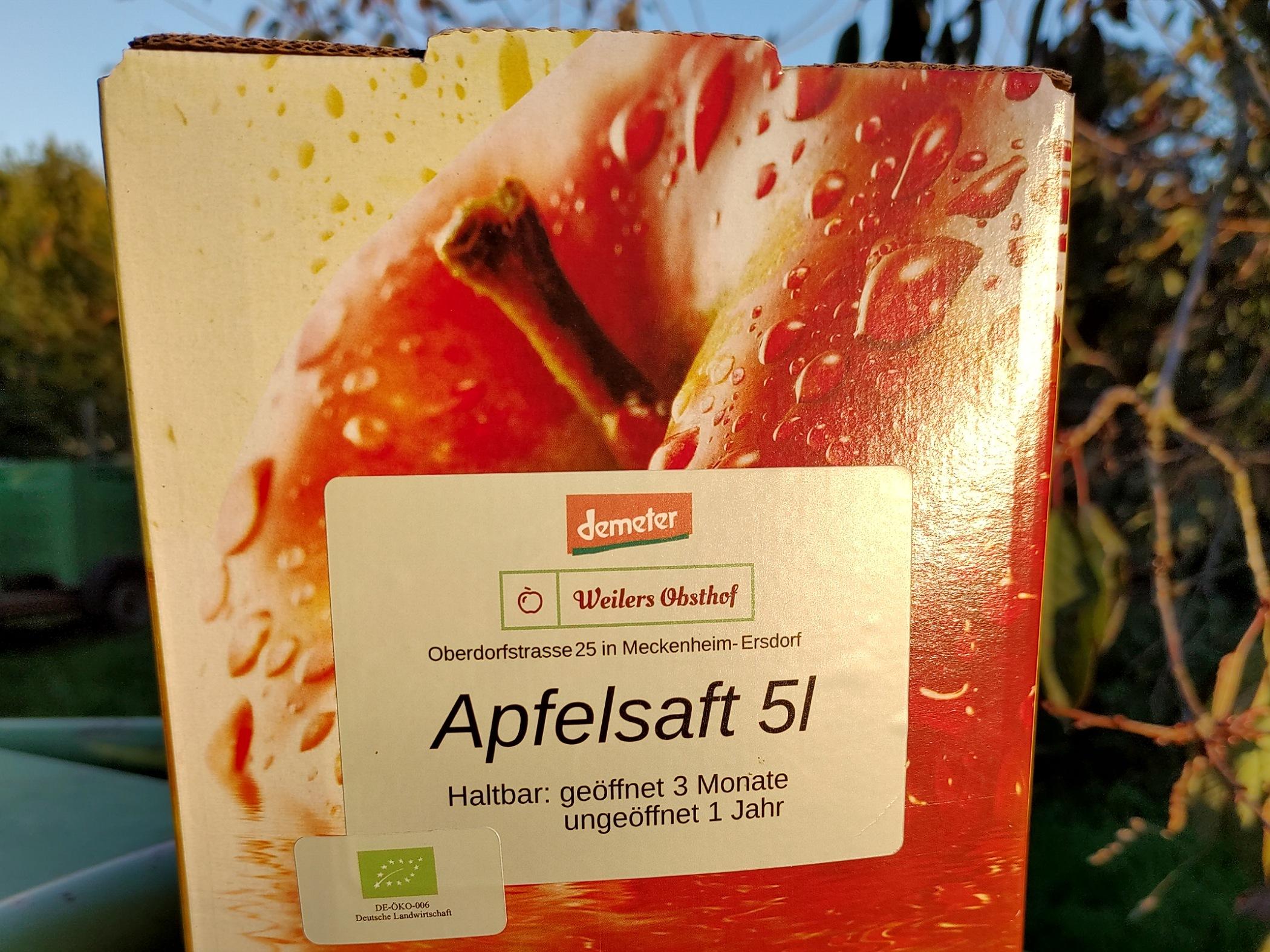 Apfelsaft | 5 l