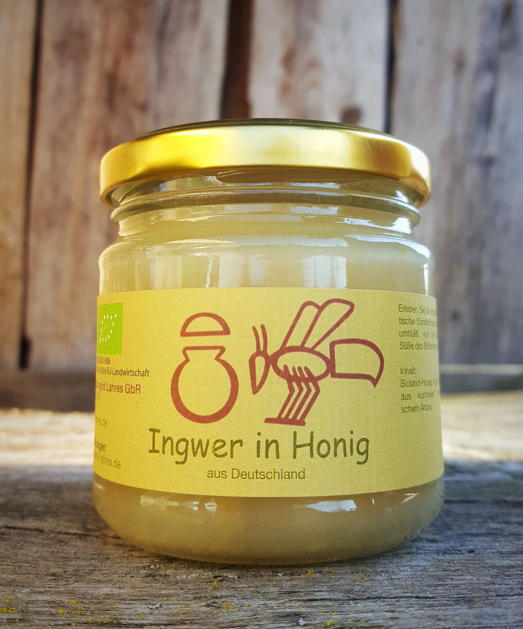 Ingwer in Honig | 250 g
